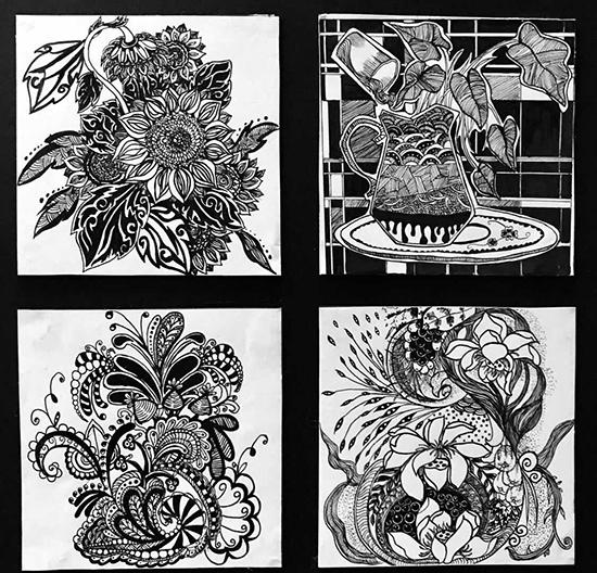 装饰图案设计是艺术设计类专业必修的一门重要的专业基础课,它